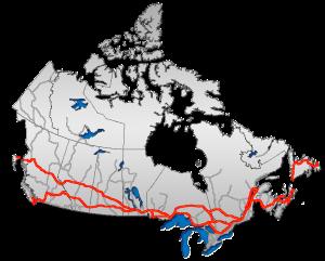 TransCanadaHWY 300x241 Auto Transport in Canada